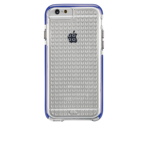 iPhone 6/6s Tough Air Case - Clear & Indigo