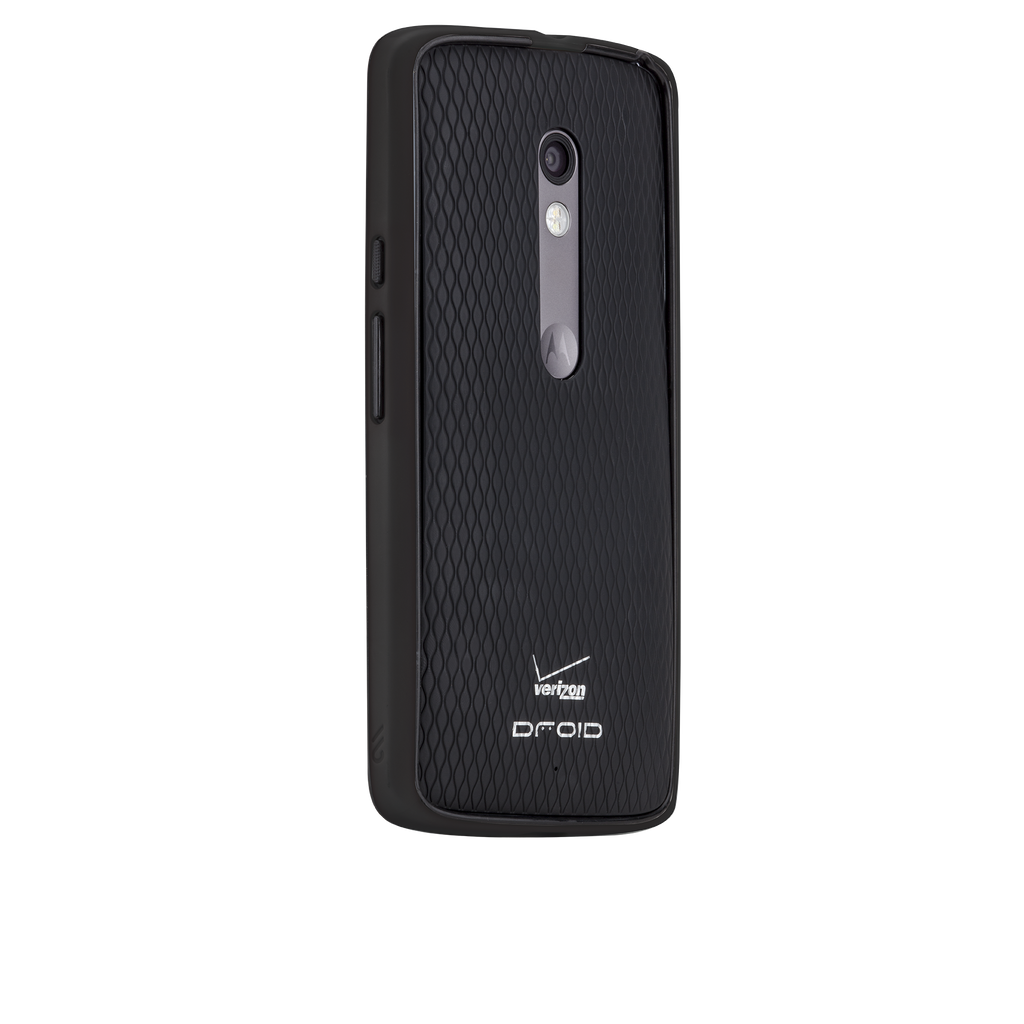 Moto X Play / Droid Maxx 2 Black & Charcoal Tough Frame Case - image angle 1