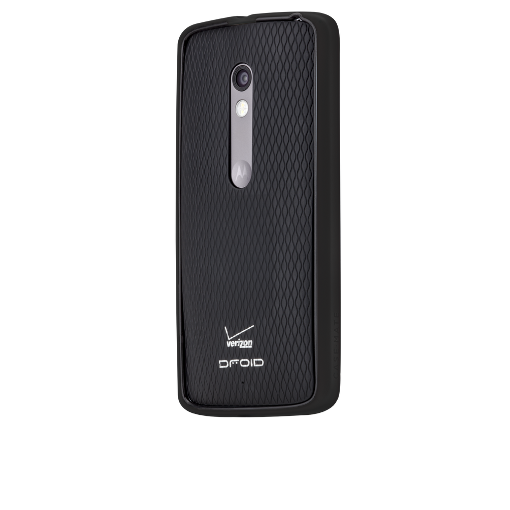 Moto X Play / Droid Maxx Black & Charcoal Tough Frame Case - image angle 3