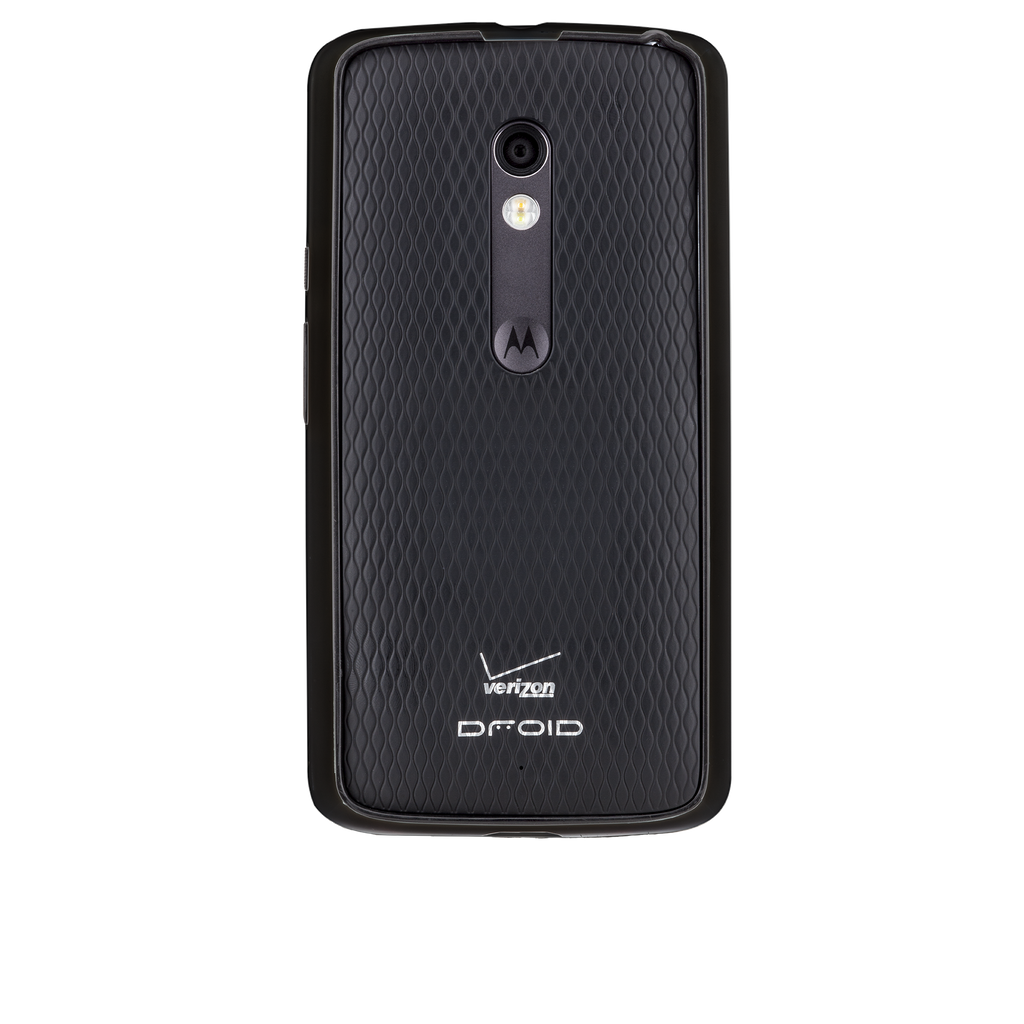 Moto X Play / Droid Maxx Black & Charcoal Tough Frame Case - image angle 7