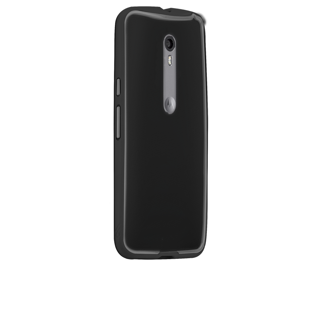 Moto X Pure Edition Black & Charcoal Tough Frame Case - image angle 1