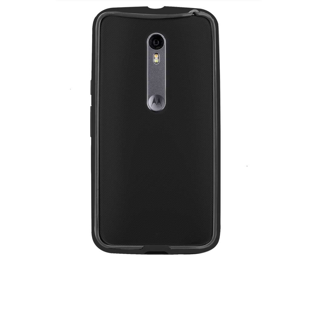 Moto X Pure Edition Black & Charcoal Tough Frame Case - image angle 7