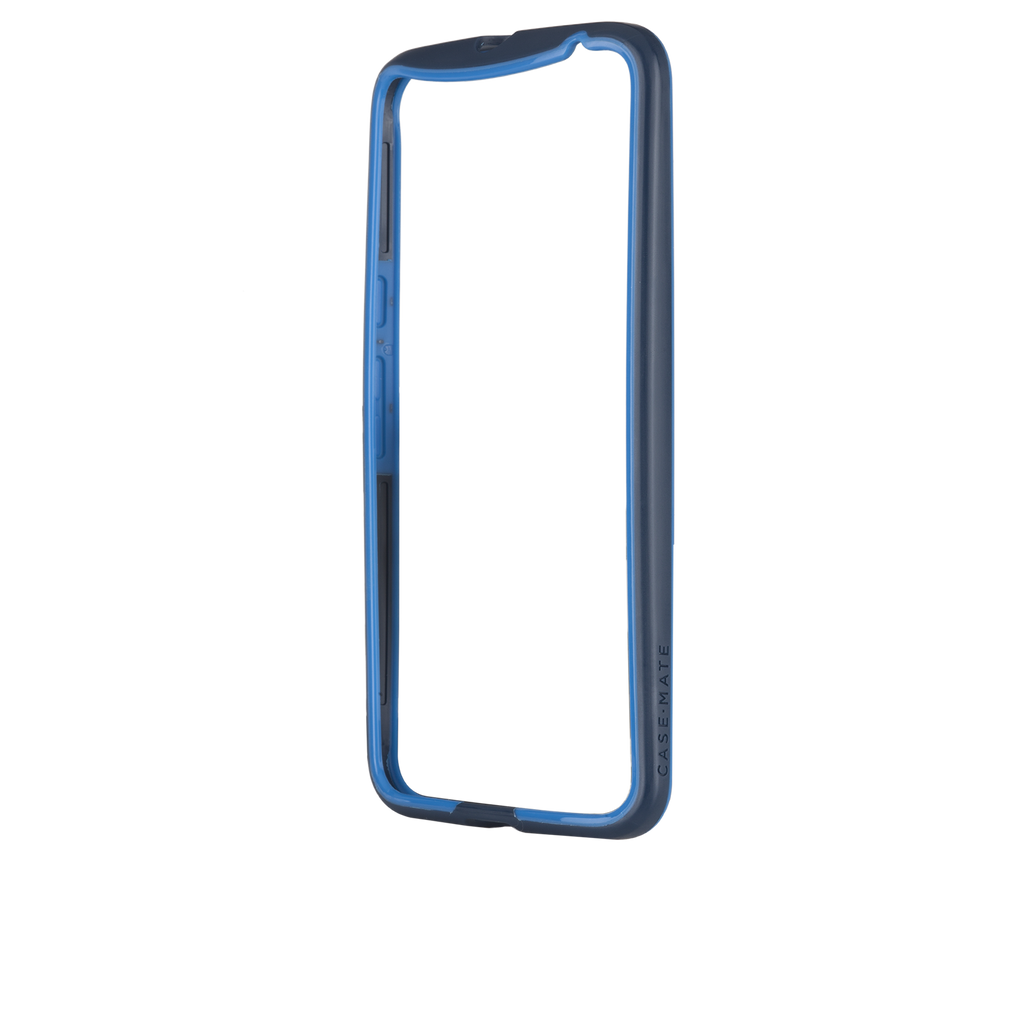Moto X Pure Edition Navy & Blue Tough Frame Case - image angle 12