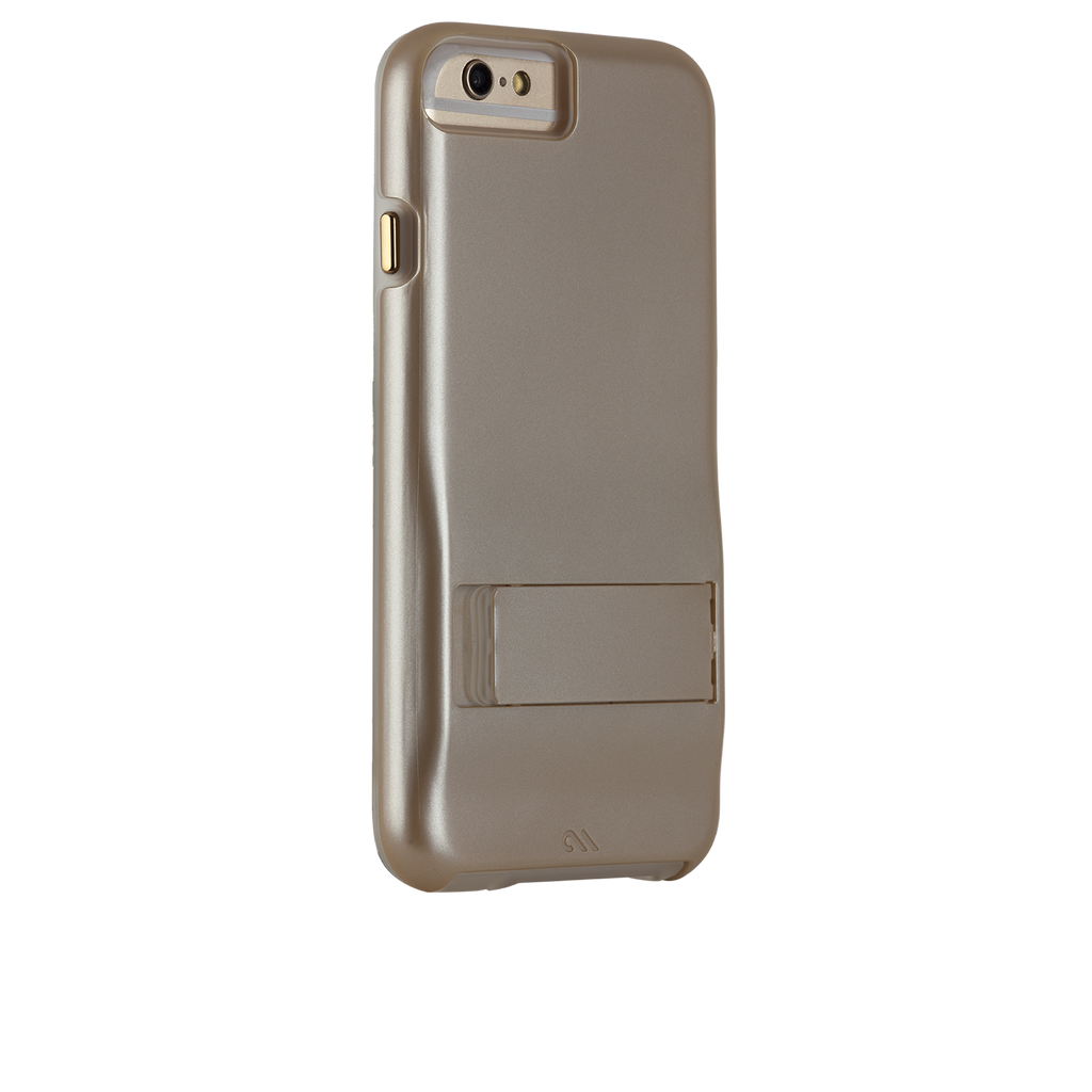 iPhone 6s Gold Tough Stand Case - image angle 1