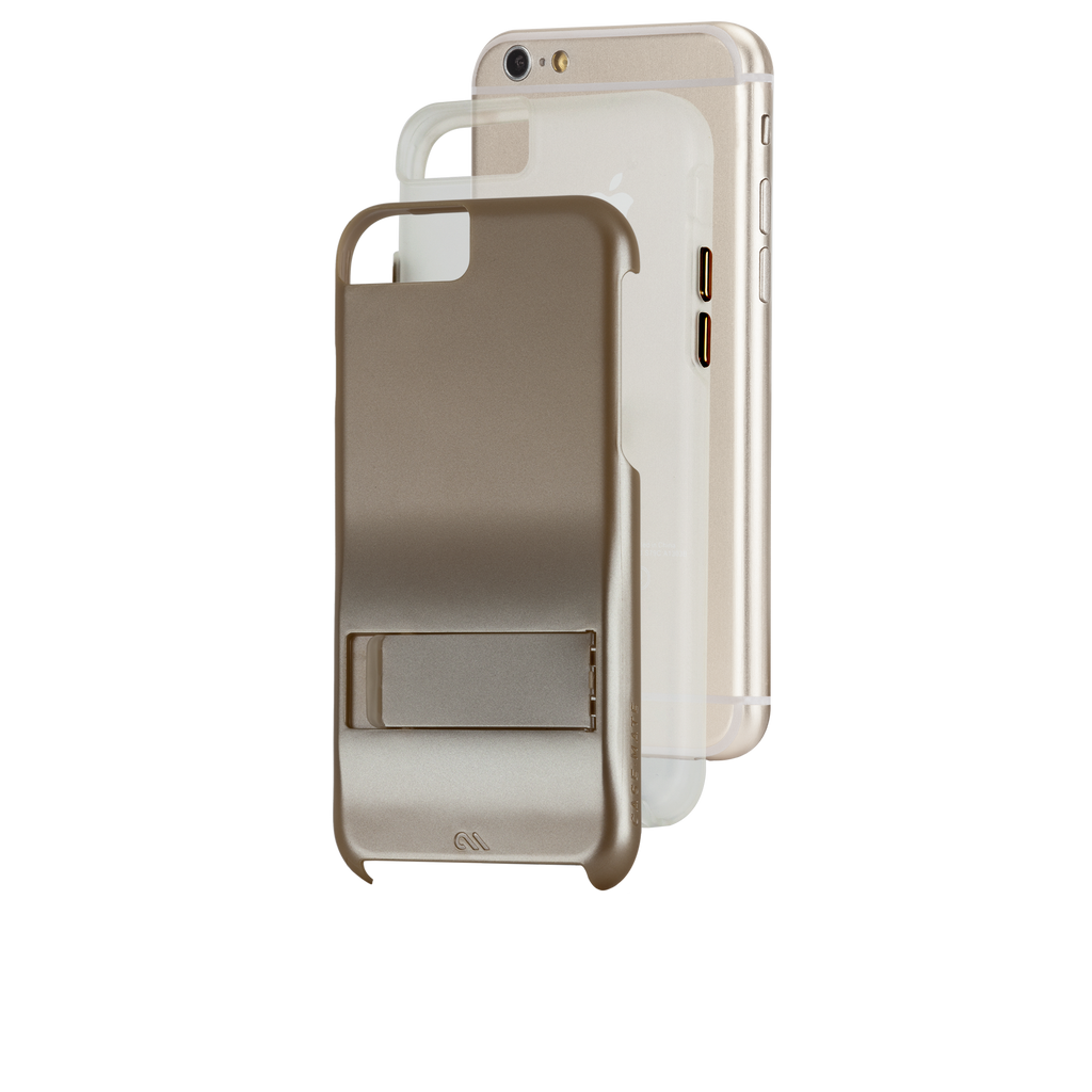 iPhone 6s Gold Tough Stand Case - image angle 8