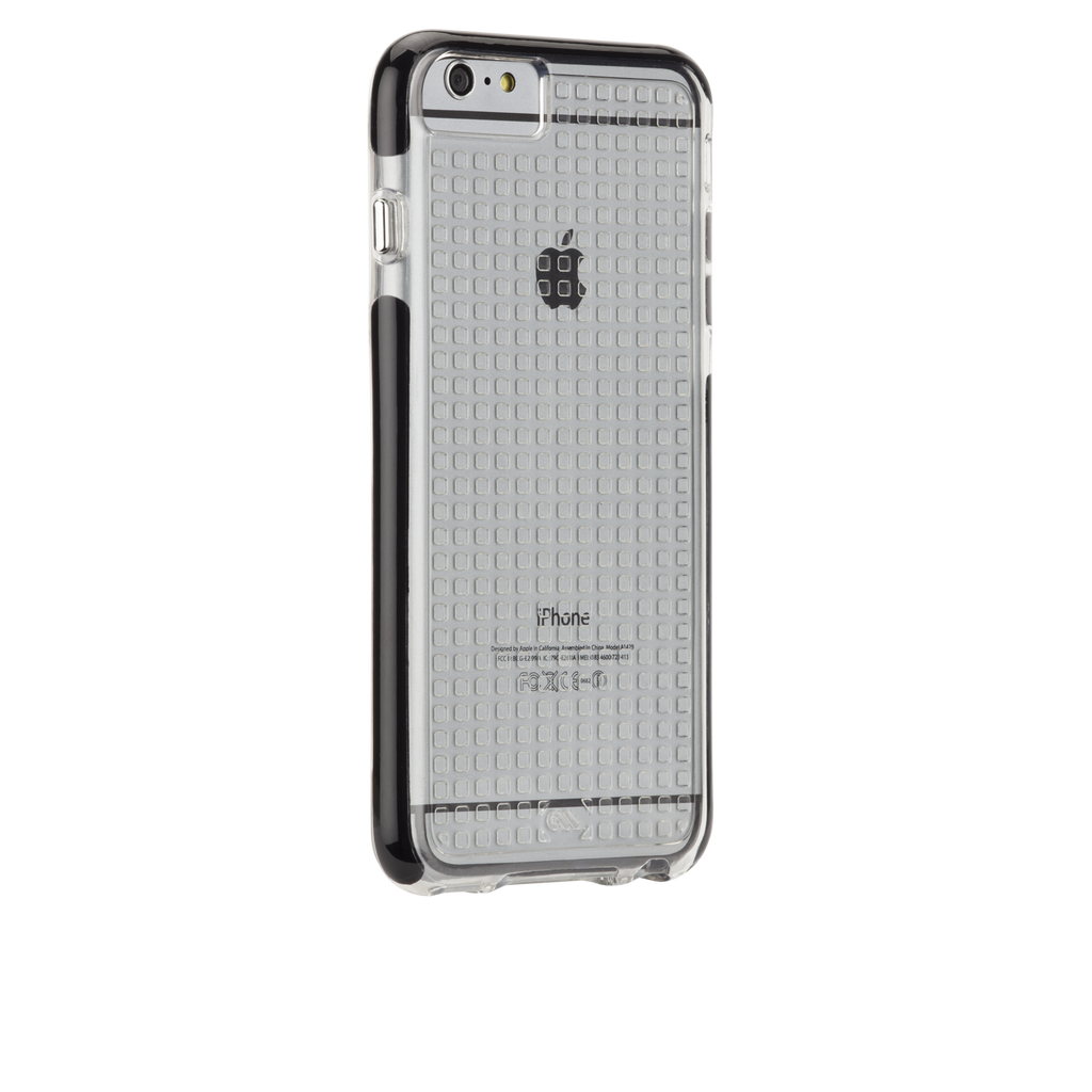 iPhone 6 Plus Clear & Black Tough Air Case - image angle 1