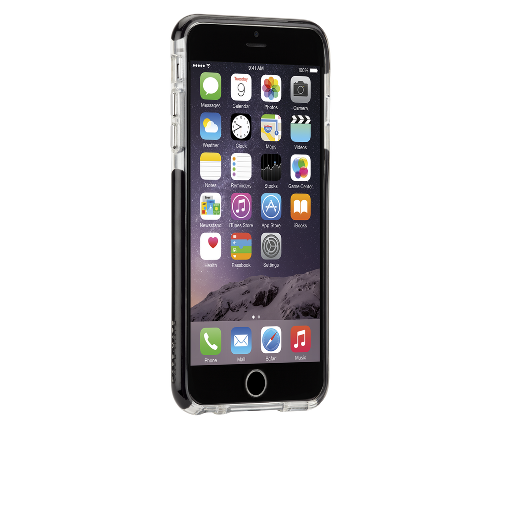 iPhone 6 Plus Clear & Black Tough Air Case - image angle 2