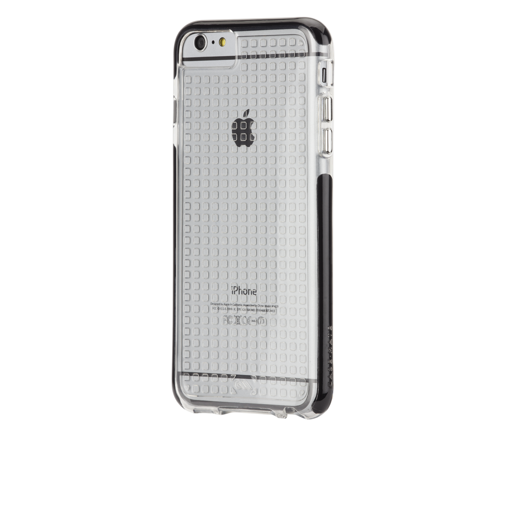 iPhone 6 Plus Clear & Black Tough Air Case - image angle 3