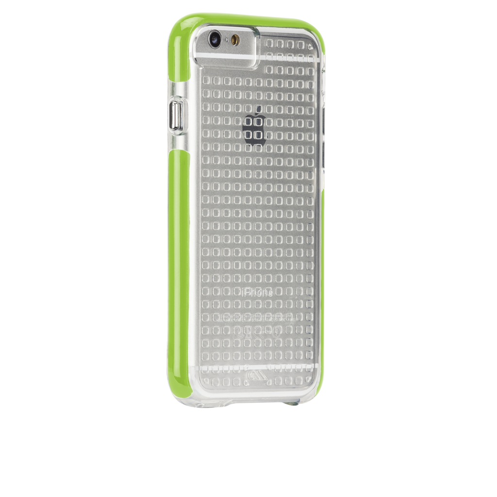 iPhone 6 Clear & Lime Green Tough Air Case - image angle 1