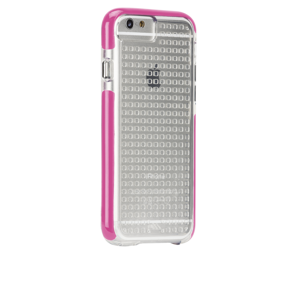 iPhone 6 Clear & Pink Tough Air Case - image angle 1