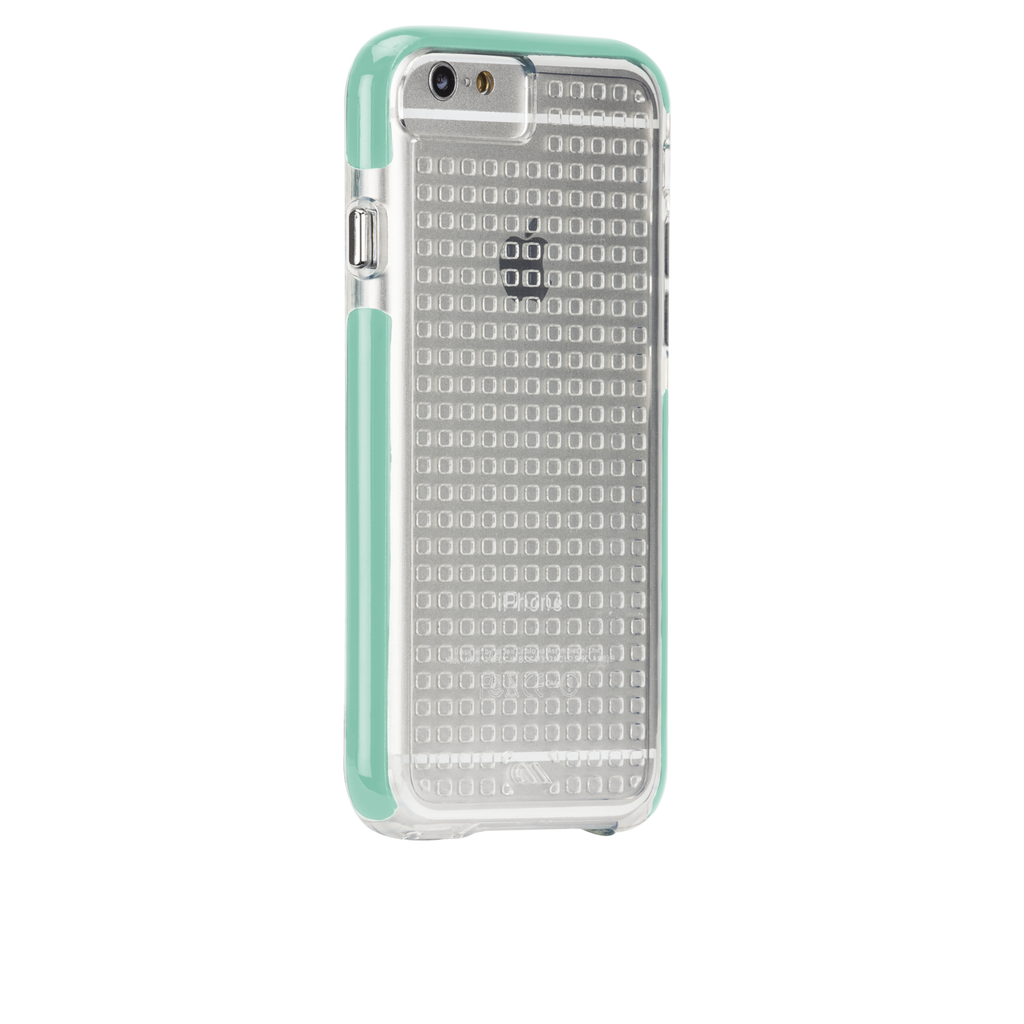iPhone 6 Clear & Pool Blue Tough Air Case - image angle 1