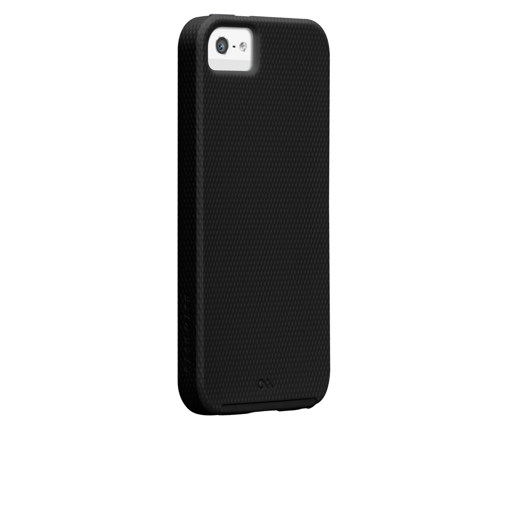 iPhone SE Black Tough Case - image angle 1