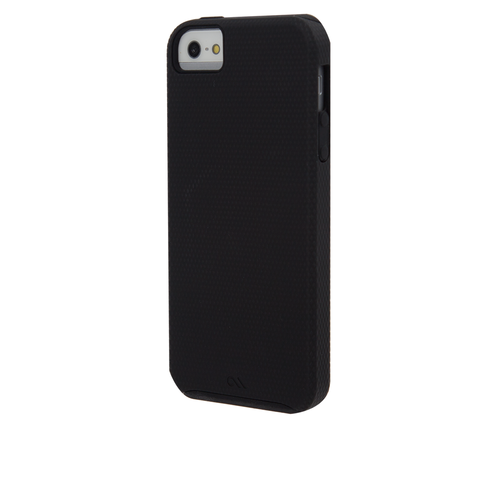iPhone SE Black Tough Case - image angle 3