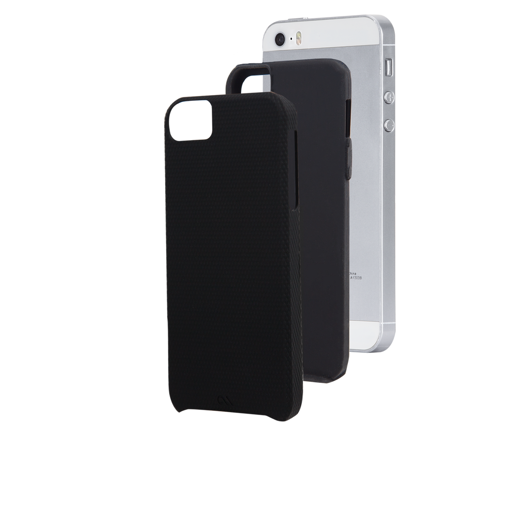 iPhone SE Black Tough Case - image angle 2