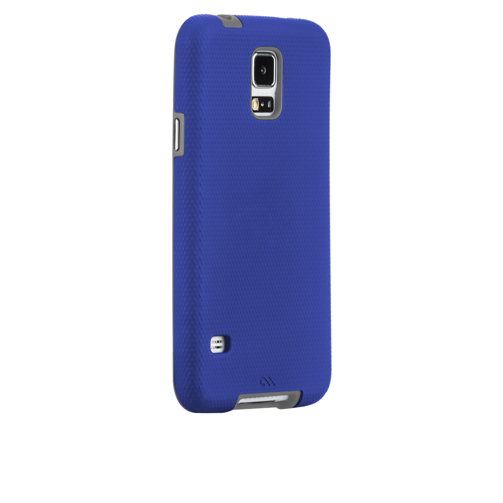 Samsung GALAXY S5 Marine Blue & Titanium Grey Tough Case - image angle 1