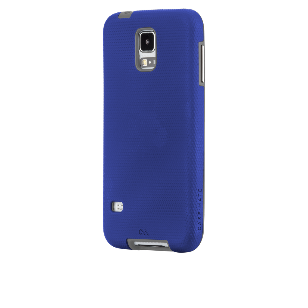 Samsung GALAXY S5 Marine Blue & Titanium Grey Tough Case - image angle 3