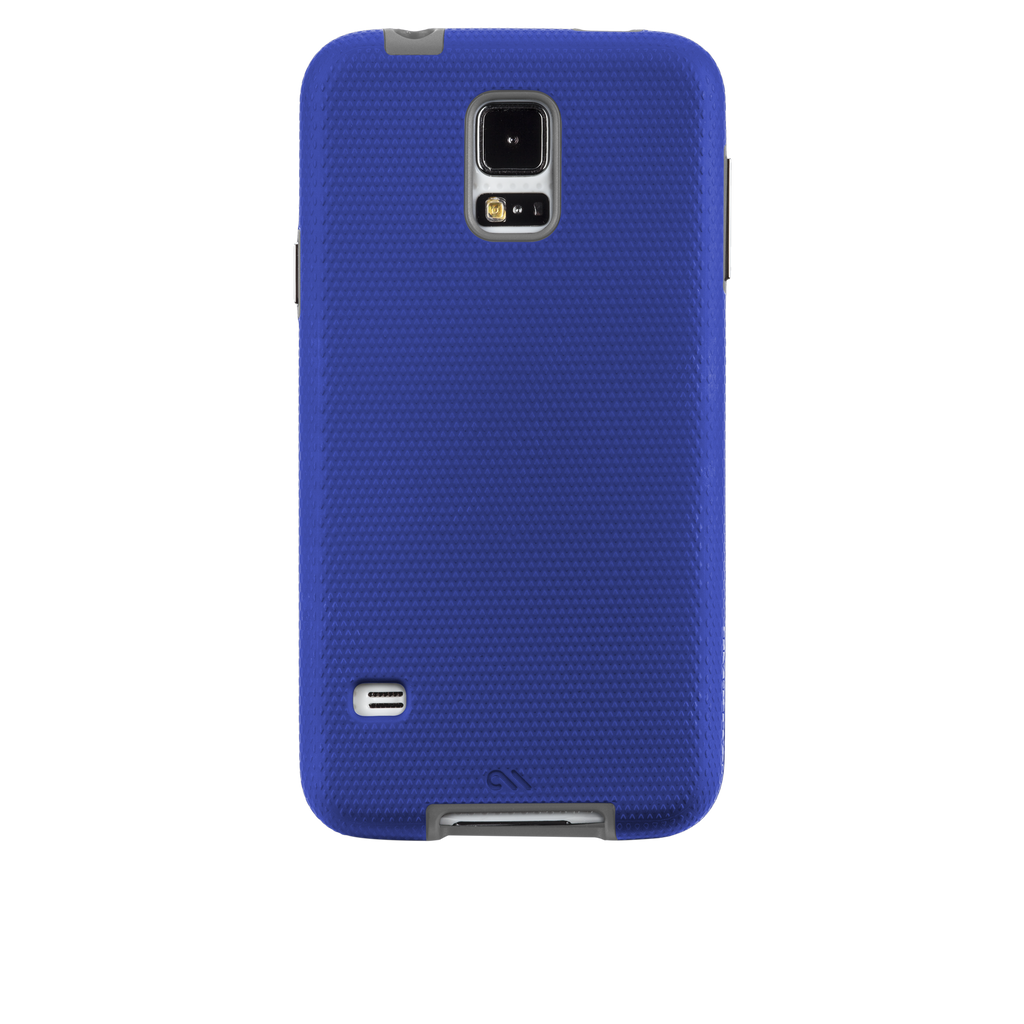 Samsung GALAXY S5 Marine Blue & Titanium Grey Tough Case - image angle 7