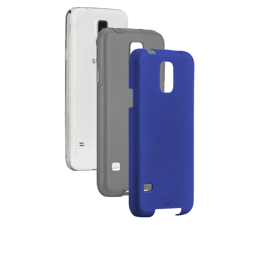Samsung GALAXY S5 Marine Blue & Titanium Grey Tough Case - image angle 8