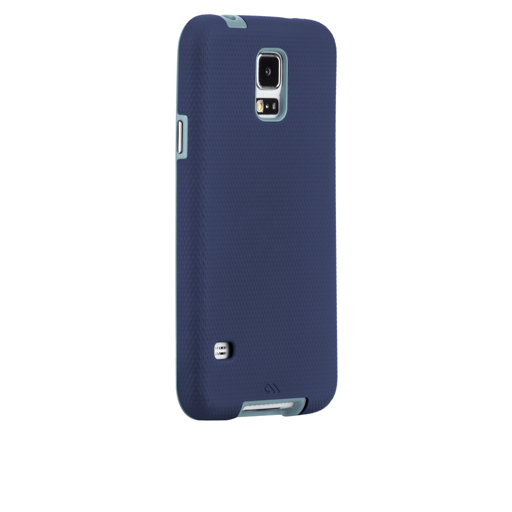 Samsung GALAXY S5 Navy & Cloud Blue Tough Case - image angle 1