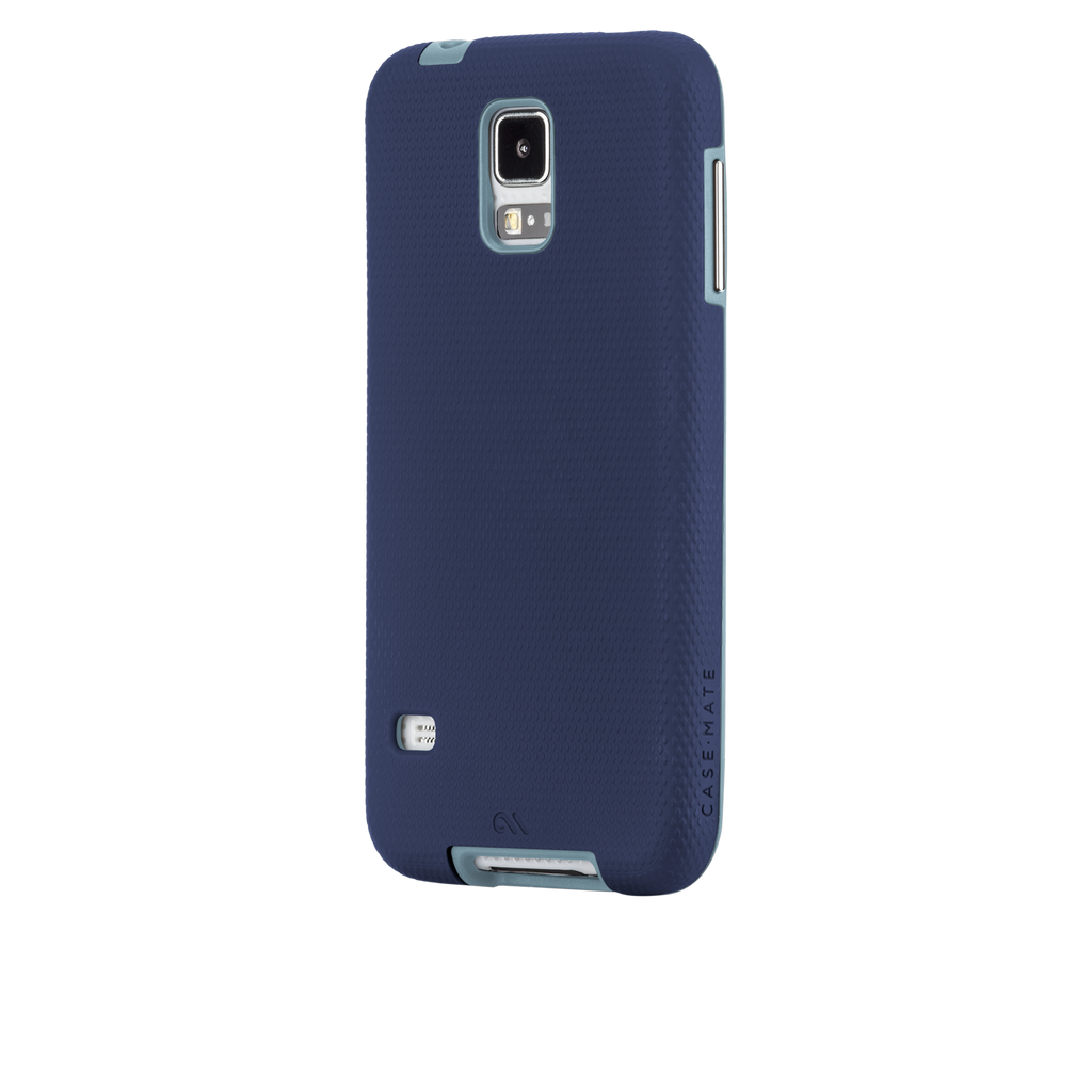Samsung GALAXY S5 Navy & Cloud Blue Tough Case - image angle 3