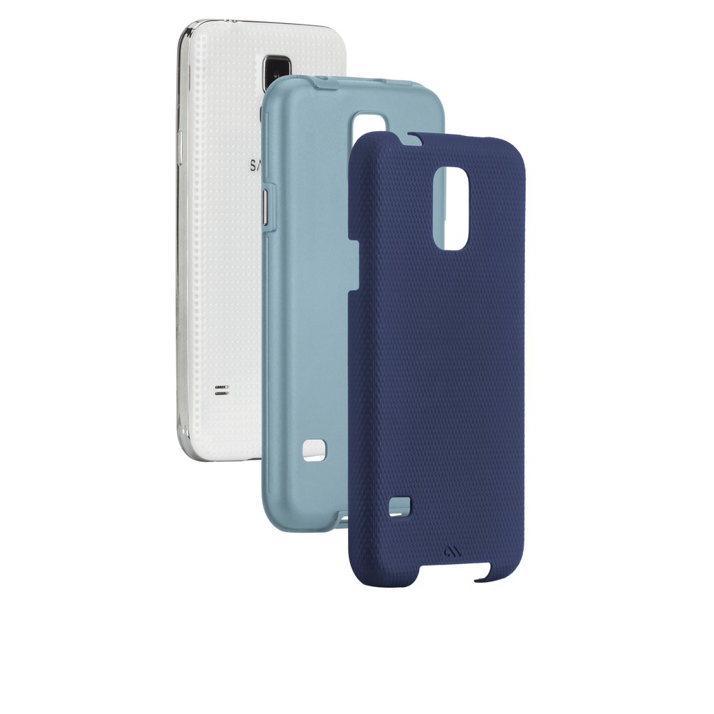 Samsung GALAXY S5 Navy & Cloud Blue Tough Case - image angle 8