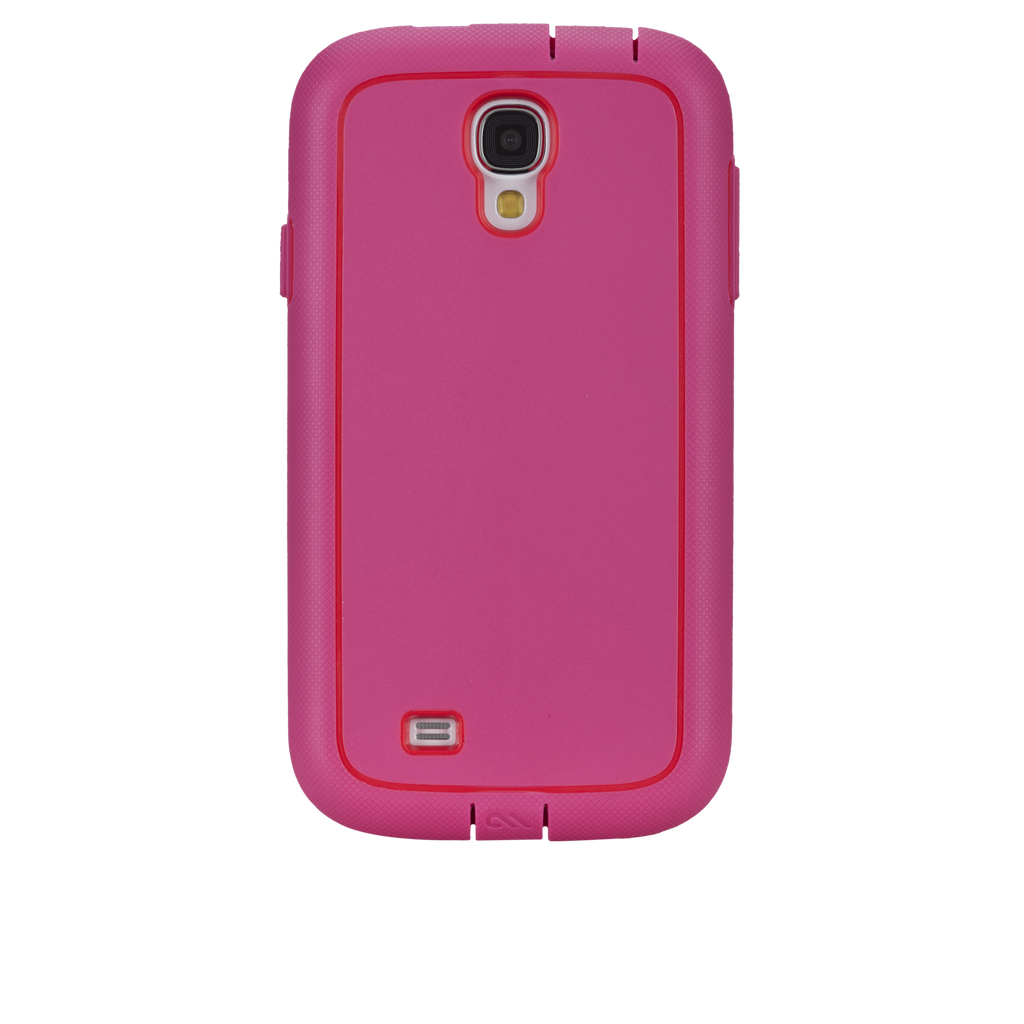 Samsung GALAXY S4 Lipstick Pink & Flame Red Tough Xtreme Case - image angle _7