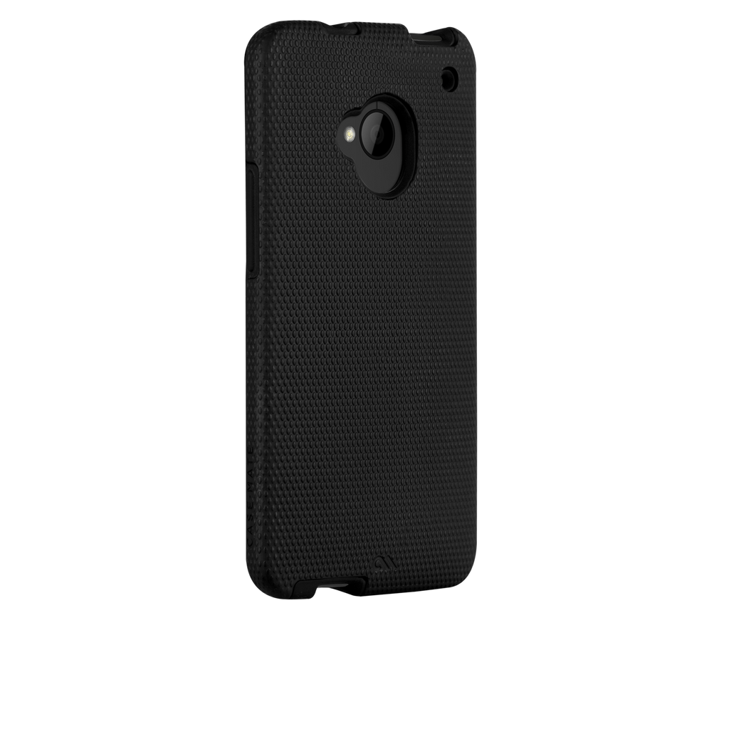 HTC One (M7) Black & Black Tough Case - image angle 1