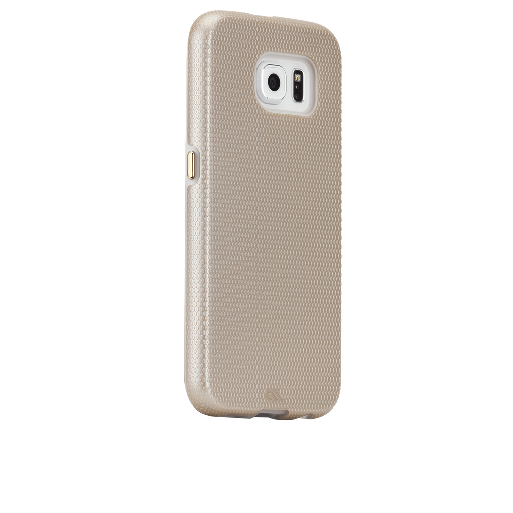 Samsung Galaxy S6 Gold Tough Case - image angle 1
