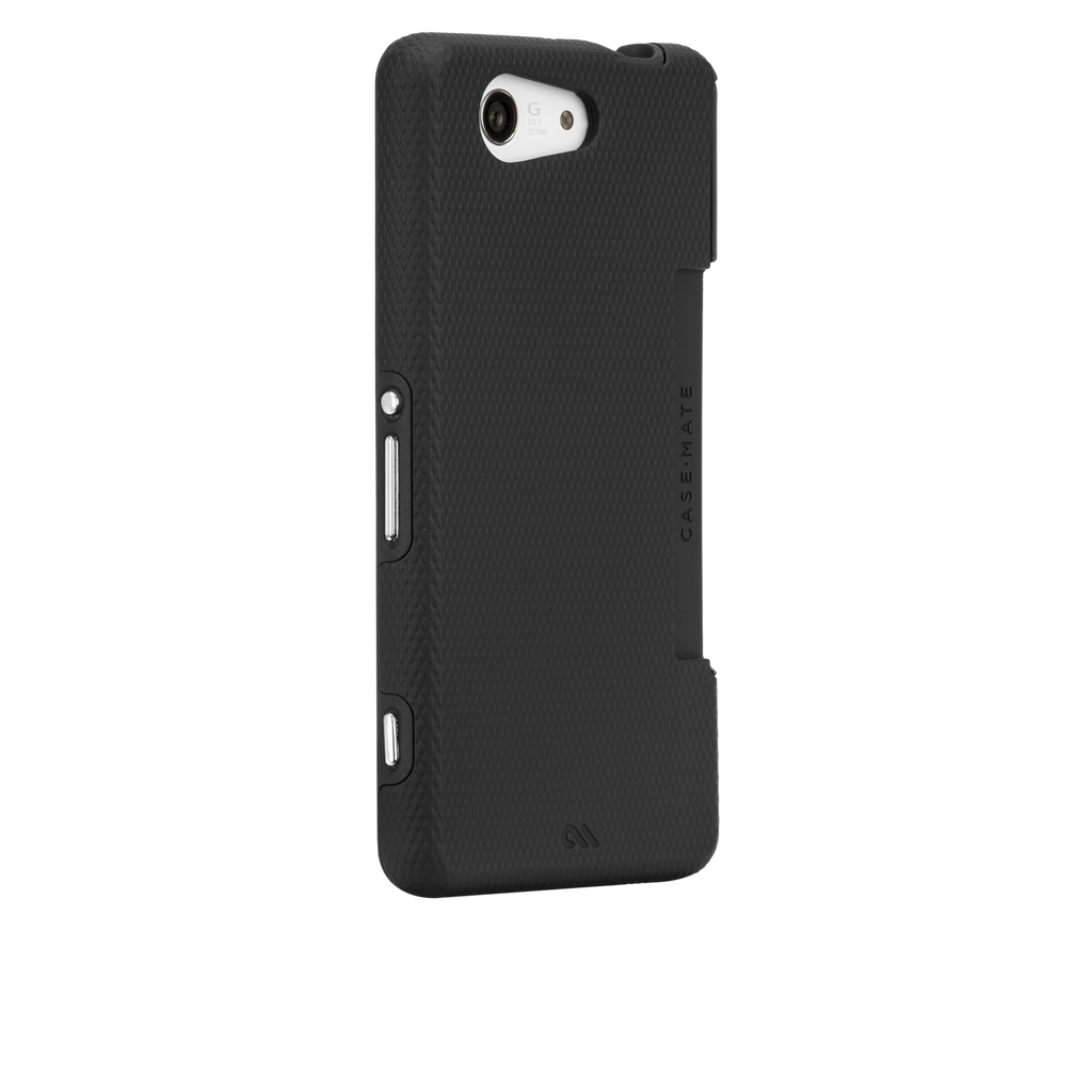 Sony Xperia Z3 Compact Black & Black Tough Case - image angle 1