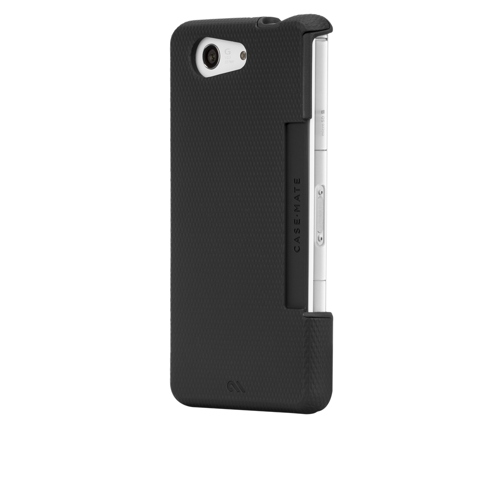 Sony Xperia Z3 Compact Black Tough Case - image angle 3
