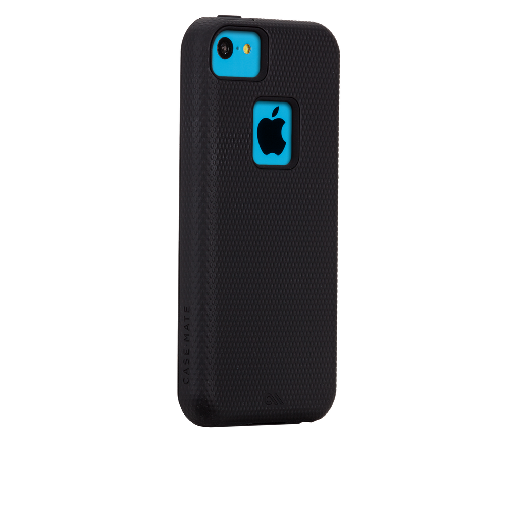 iPhone 5c Black Tough Case - image angle 1