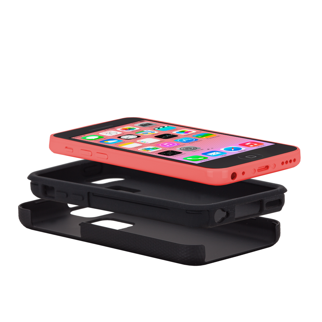 iPhone 5c Black Tough Case - image angle 8