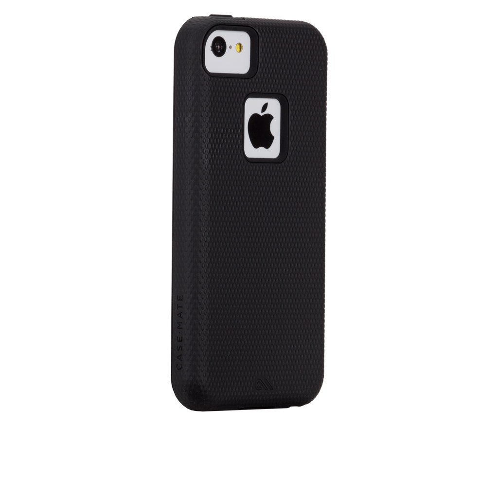 iPhone 5c Black & Black Tough Case - image angle 1