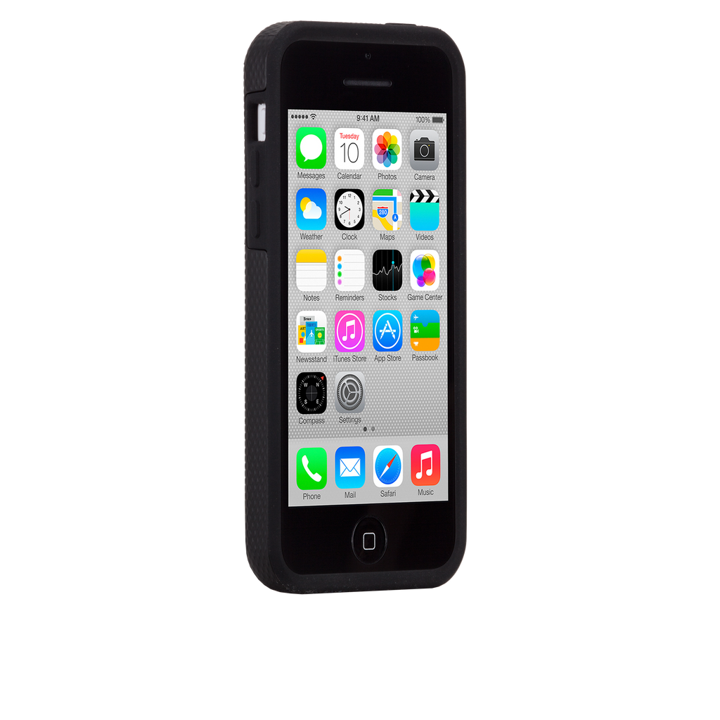 iPhone 5c Black Tough Case - image angle 2