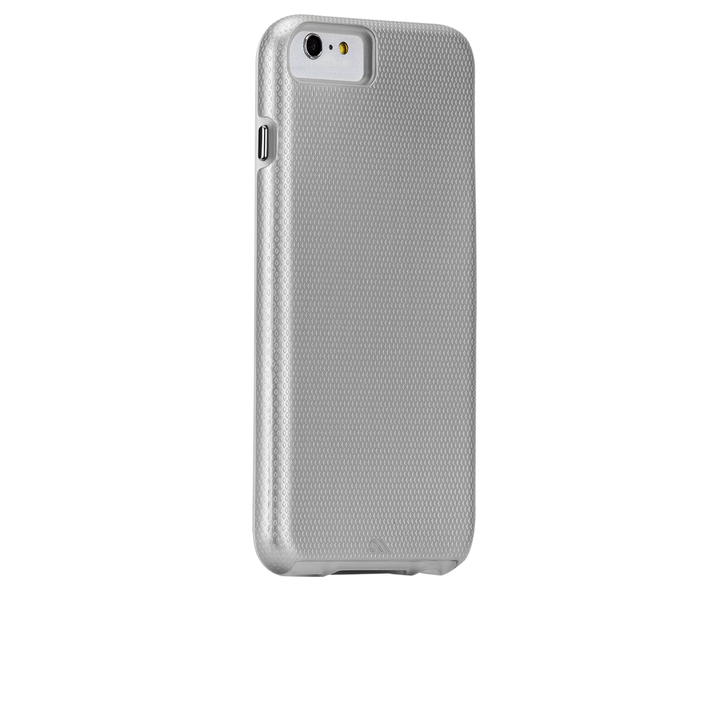 iPhone 6 Plus Silver Tough Case - image angle 1