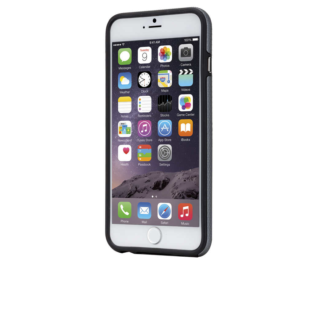 iPhone 6 Plus Grey Tough Case - image angle 4