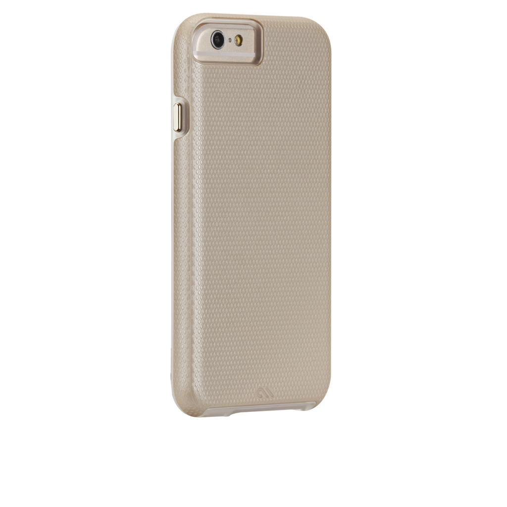 iPhone 6 Gold & Clear Tough Case - image angle 1