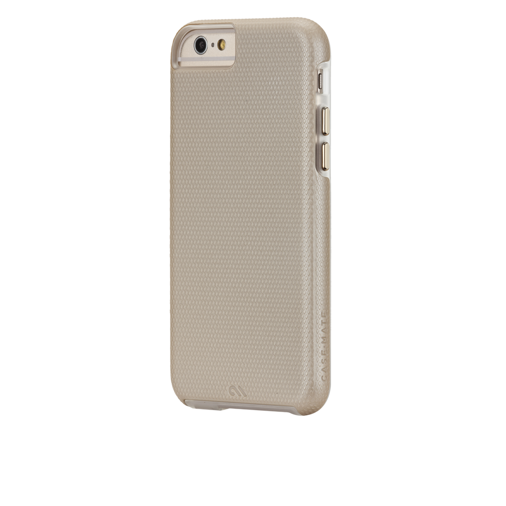 iPhone 6 Gold & Clear Tough Case - image angle 3