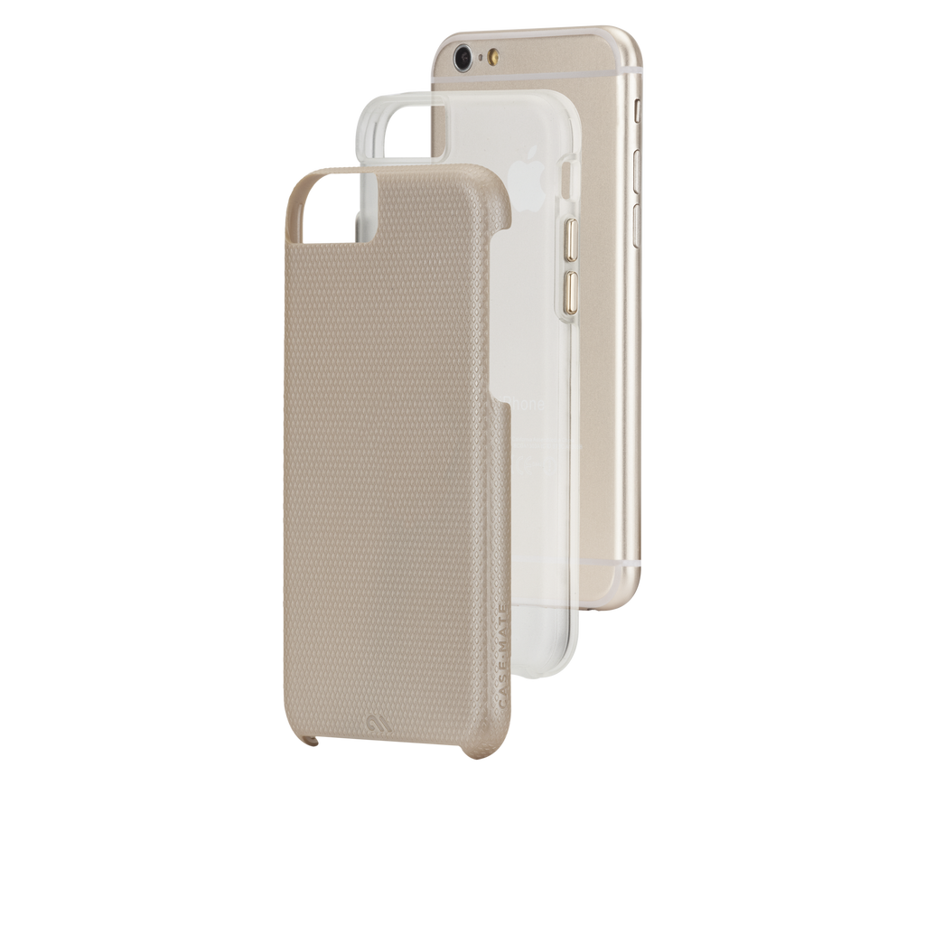iPhone 6 Gold & Clear Tough Case - image angle 8