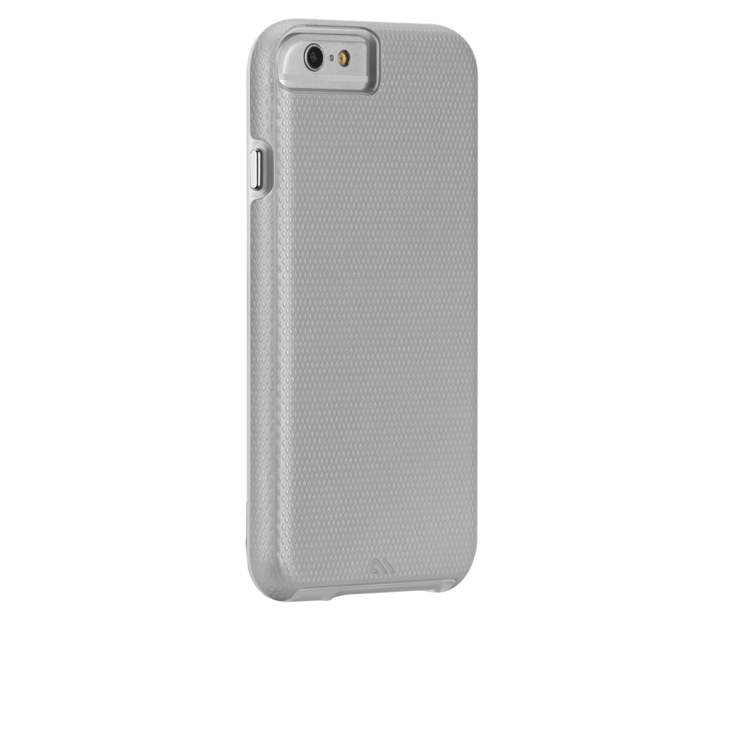 iPhone 6 Silver & Clear Tough Case - image angle 1