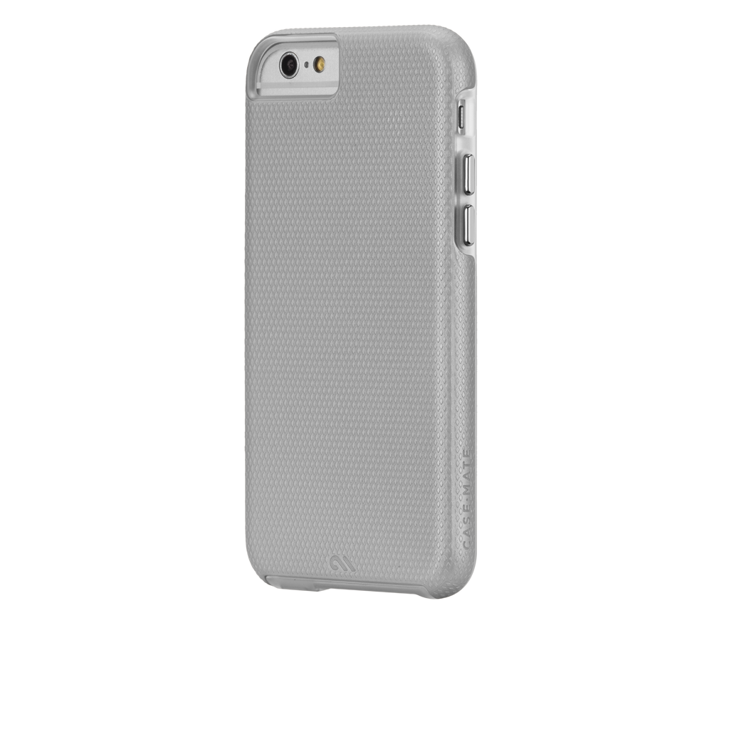 iPhone 6 Silver & Clear Tough Case - image angle 3