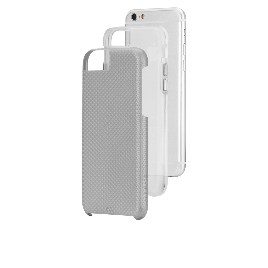 iPhone 6 Silver & Clear Tough Case - image angle 8