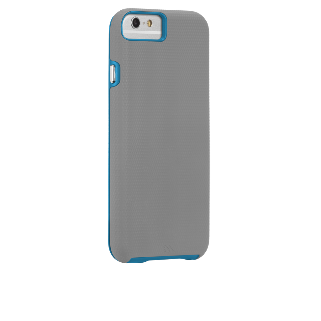 iPhone 6 Grey & Blue Tough Case - image angle 1