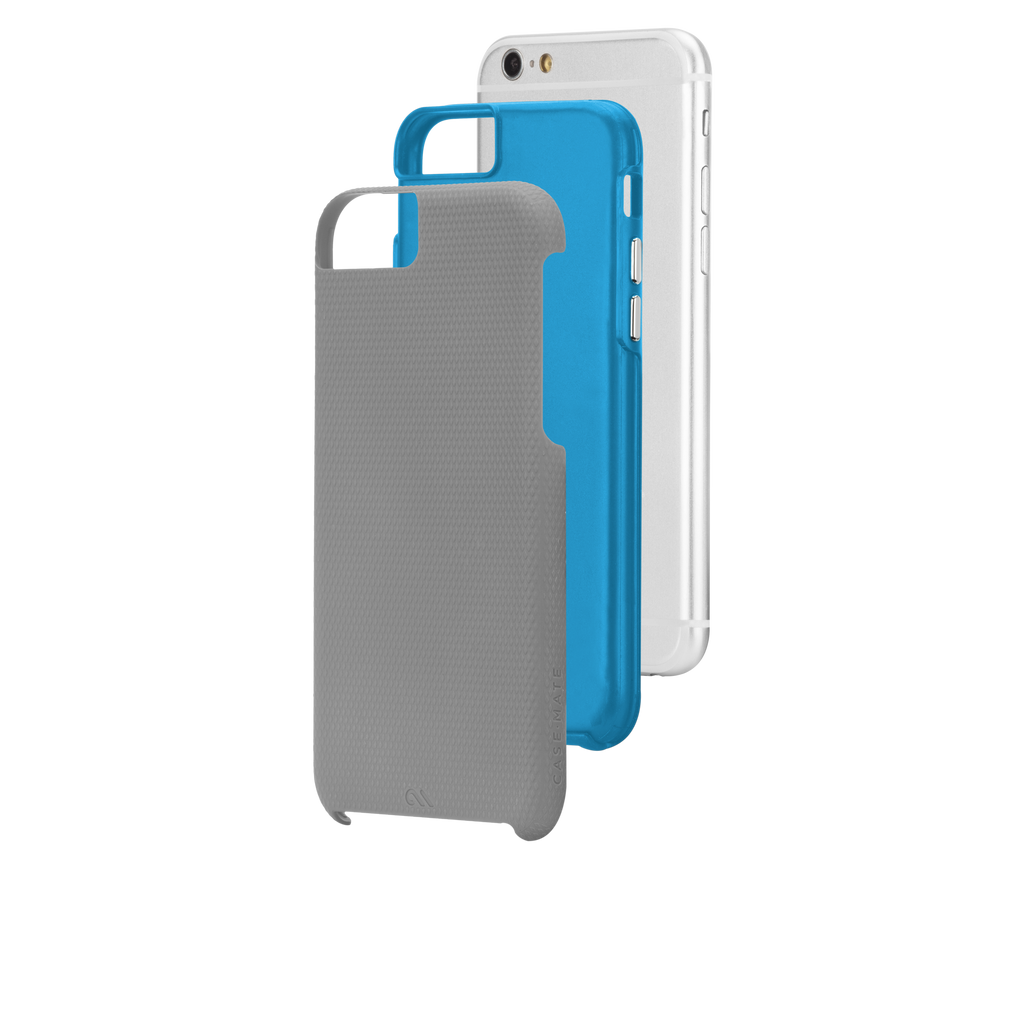 iPhone 6 Grey & Blue Tough Case - image angle 8