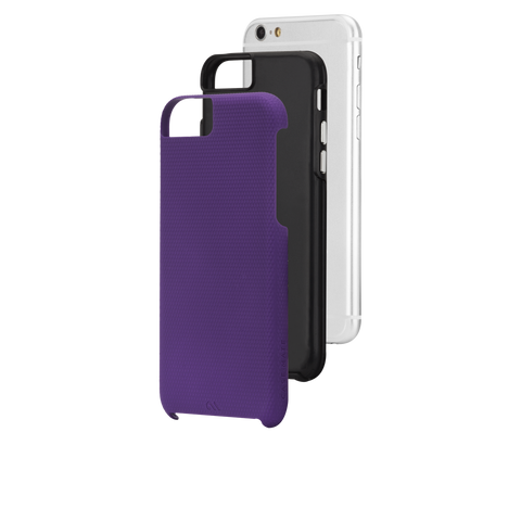 iPhone 6/6s Tough Case - Purple & Black Liner