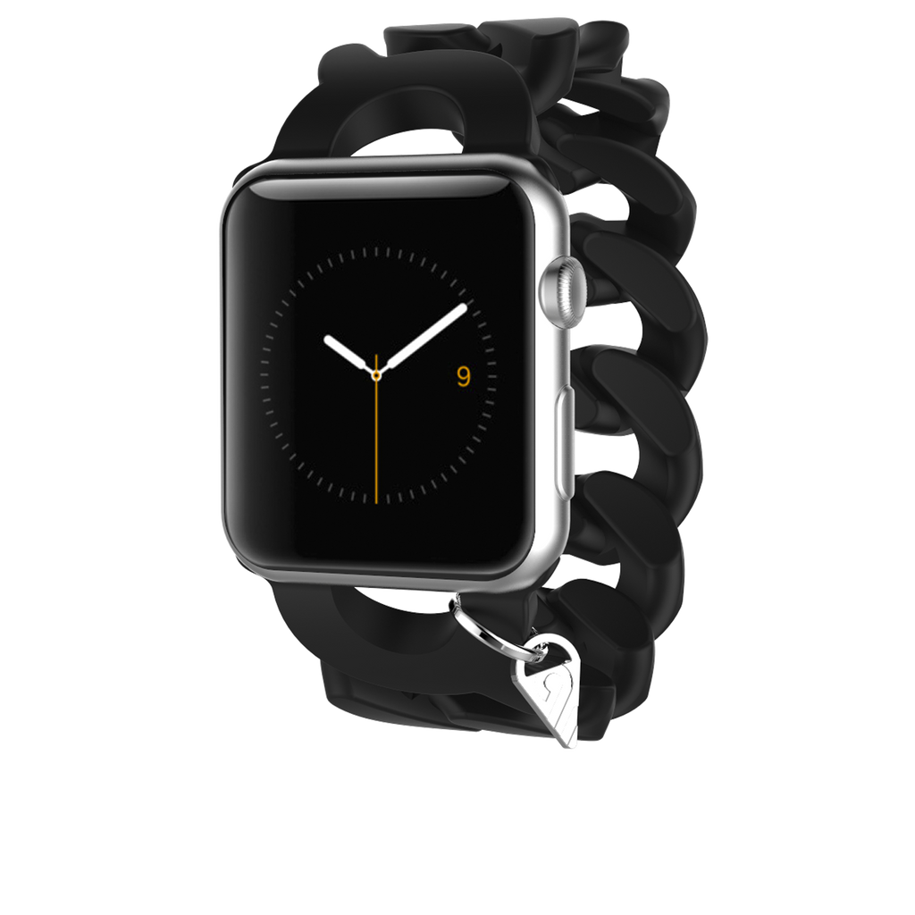 Apple Watch 38mm Black Turnlock Band - image angle 2