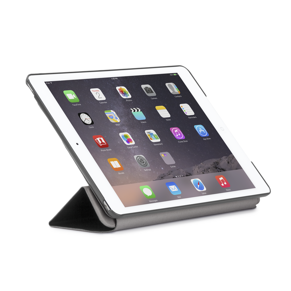 iPad Air 2 Cool Gray Tuxedo Case - image angle 8