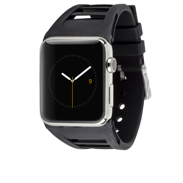 Apple Watch 42mm Black Vented Band - image angle 1