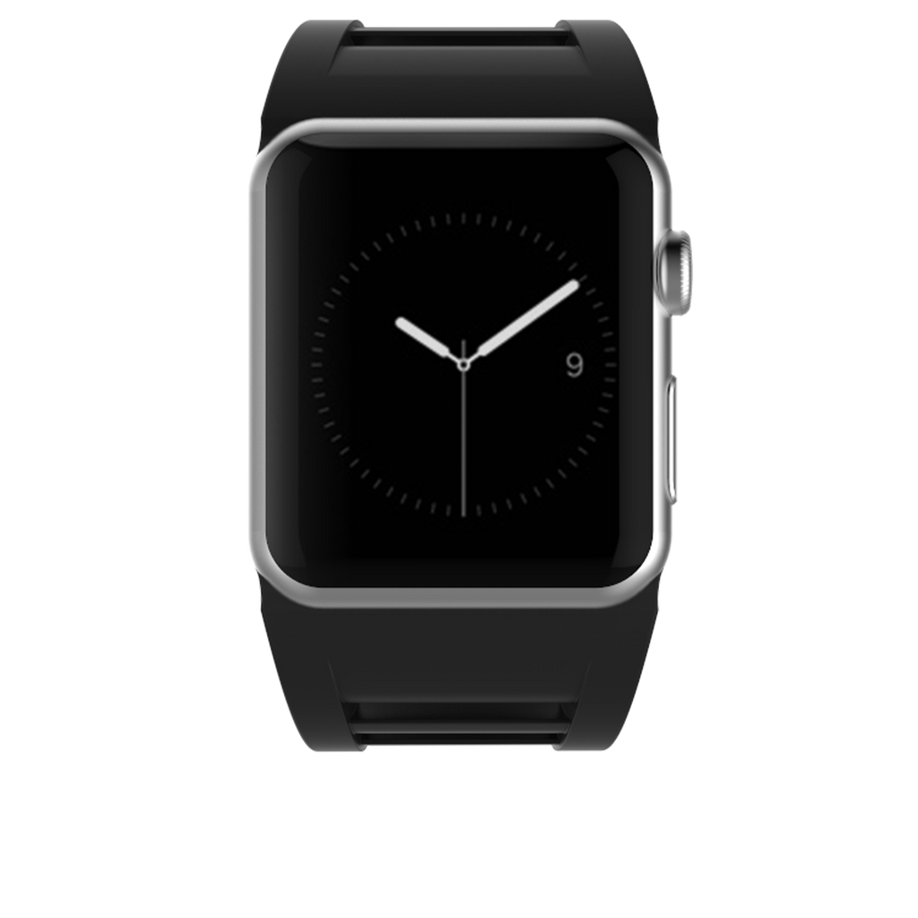 Apple Watch 42mm Black Vented Band - image angle 4