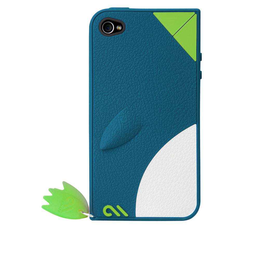 iPhone 4/4s Blue Waddler Creatures Case - image angle 7
